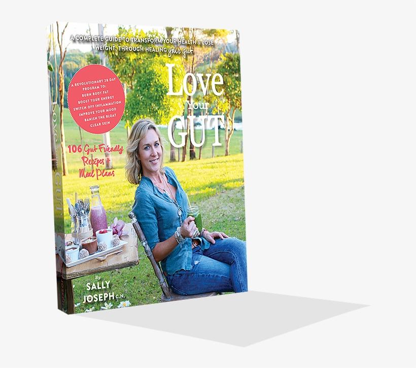 Lyg Book-mockup V2 - Sally Joseph Love Your Gut, transparent png #7684946