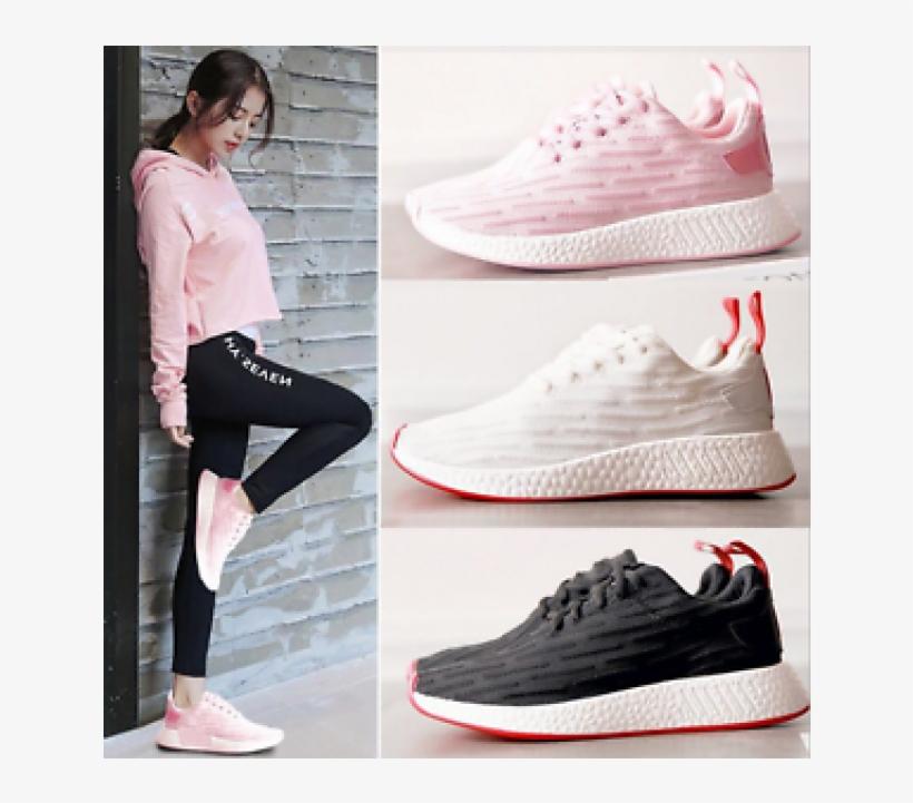 Sale Autumn / Winte New Women Running Breathable Shoes - Korean Sport Shoe 11street, transparent png #7686648