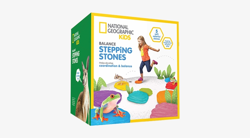 National Geographic Kids Obstacle Course With 5 Balance - National Geographic Kids, transparent png #7693572