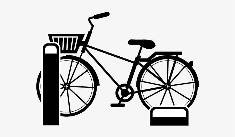 Bike Rental Bicycle Parking - Bicycle Parking Icon, transparent png #7694587