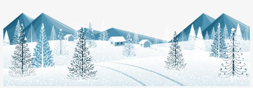 Winter Trees Png Transparent, transparent png #7698495