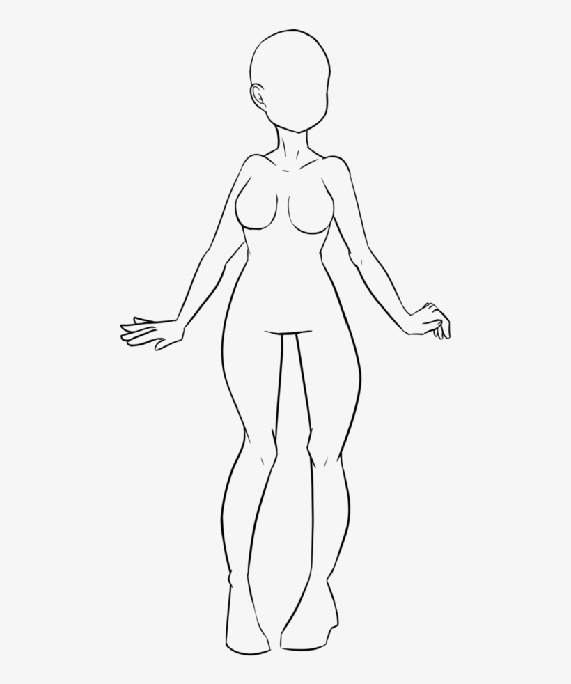 Transparent Base Human Graphic - Sketch, transparent png #770037