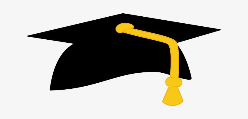 Parents Of Seniors - Black And Gold Graduation Cap, transparent png #770631