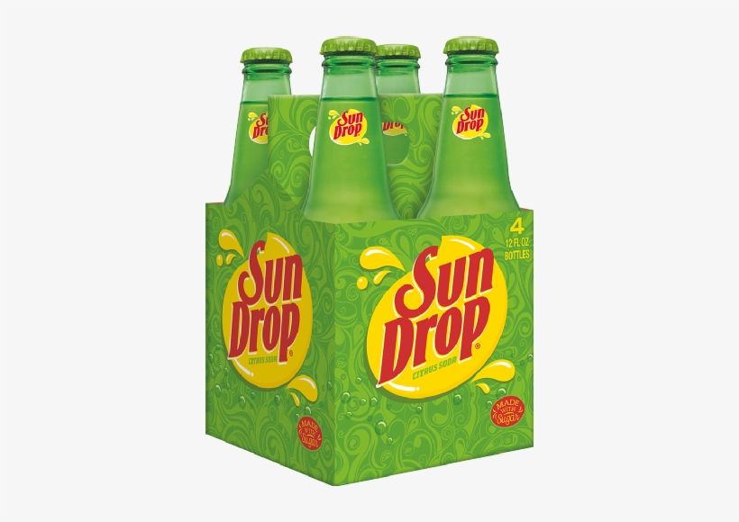 Dr Pepper/seven Up Sun Drop Soda, 4 Ea - Sun Drop Citrus Soda - 24 Pack, 12 Fl Oz Cans, transparent png #770853