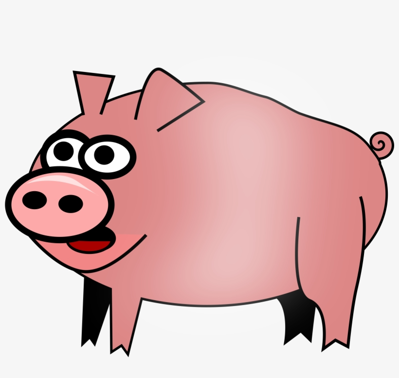 Pork Clipart Transparent Cartoon Pig No Background Free Transparent Png Download Pngkey