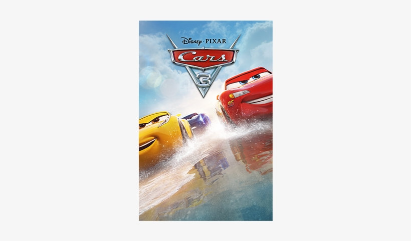 Cars 3 Poster - Cars 3 - Blu-ray, transparent png #775127