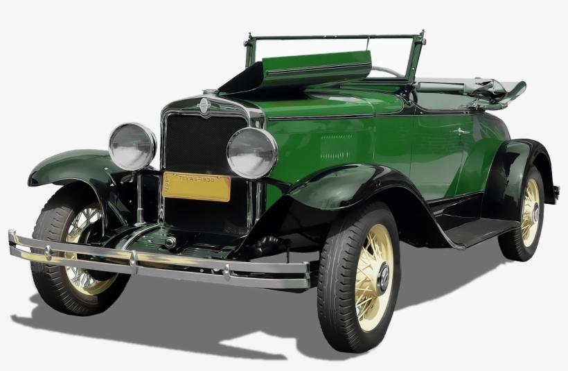 Oldtimer Car Png Image - Vintage Two Door Green Car Photograph Wine Stopper, transparent png #775602