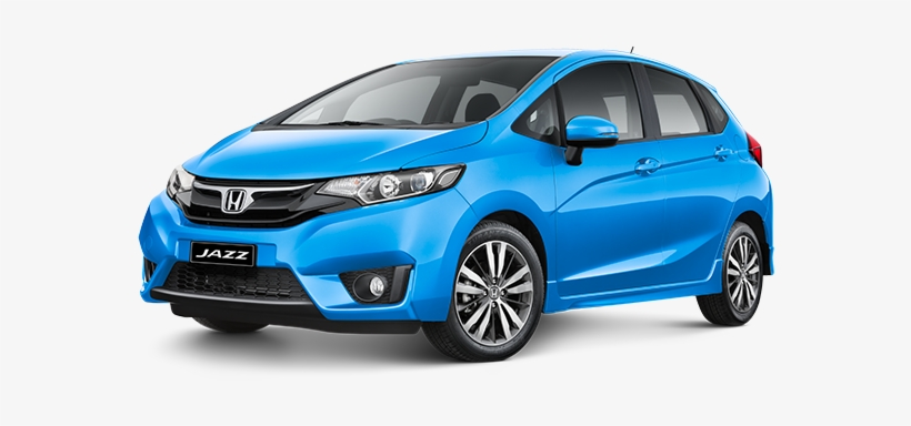 Honda Jazz - Honda Jazz 2015 Blue, transparent png #776401