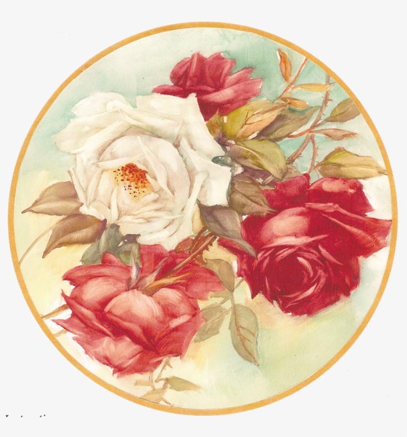 Картинки, круглые картинки с цветами
