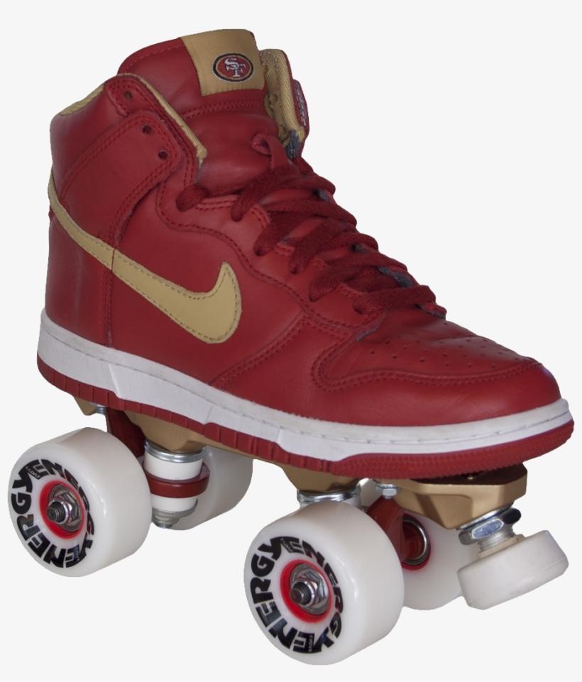 Roller Skates Png Image - Nike Shoe Roller Skates, transparent png #776815