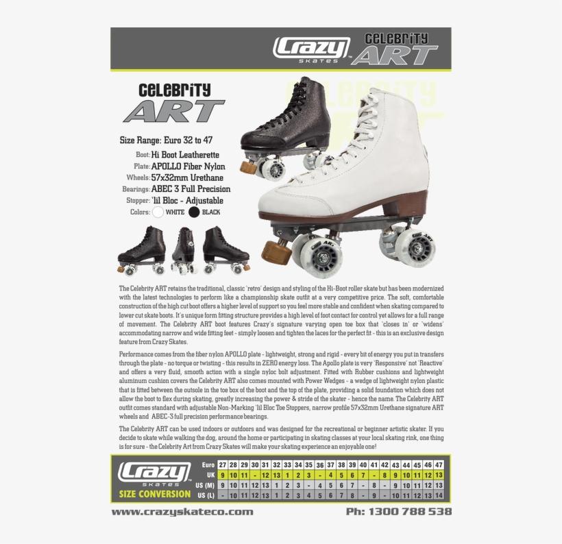 The Celebrity Art Skate Retains The Traditional, Classic - Celebrity Art Skate, transparent png #776869