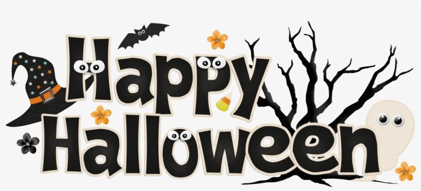 Halloween Clipart Transparent - Happy Halloween Clipart, transparent png #777068