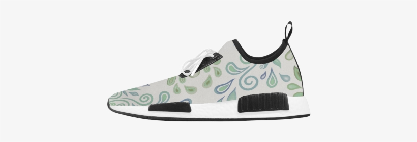 40d7c01a9b0 Blue And Green Watercolor Design Women s Draco Running - Photography Camera  Women s Draco Running Shoes