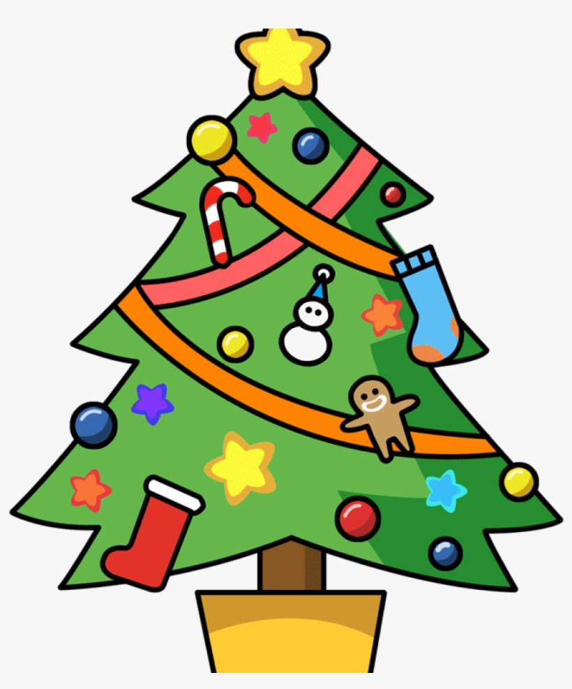 Math Clipart Christmas - X Mas Tree Clipart, transparent png #777808