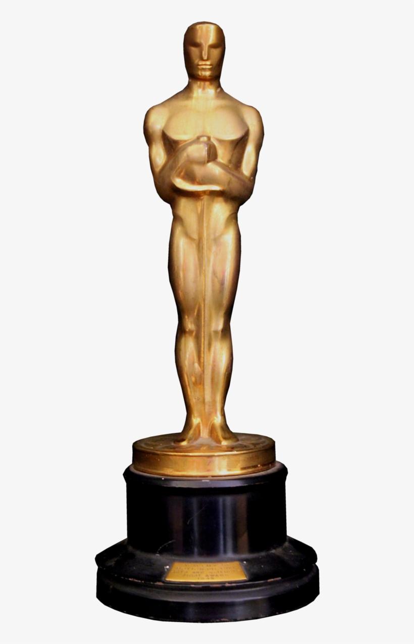 Oscar Award Png - 2017 Oscar Trophy, transparent png #778097