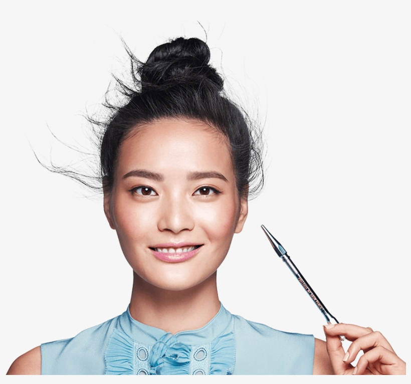 How To Apply Precisely, My Brow Pencil - Benefit Precisely My Brow Pencil 05 Deep, transparent png #778535