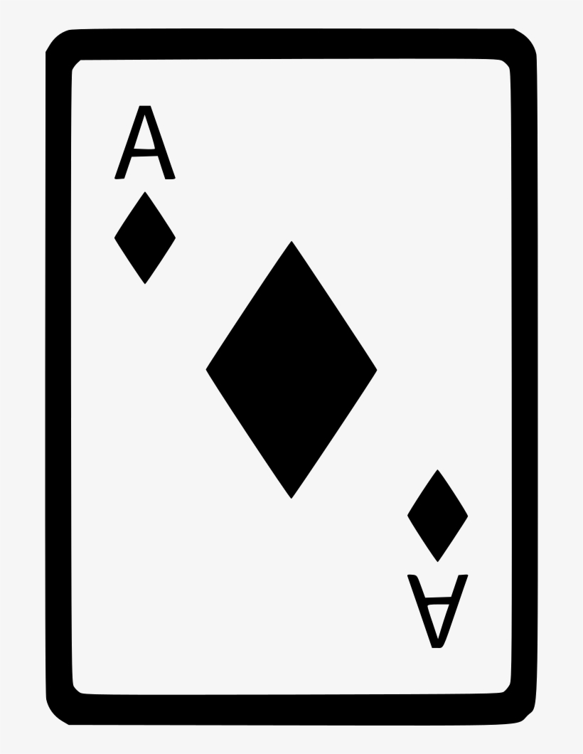 Ace of diamonds card poker comments draw an ace of spades