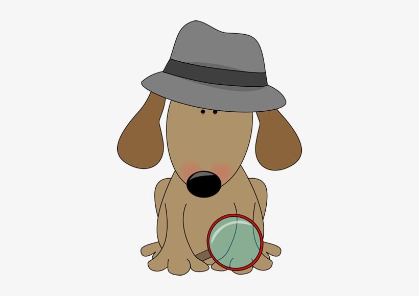 Dog Detective Clip Art