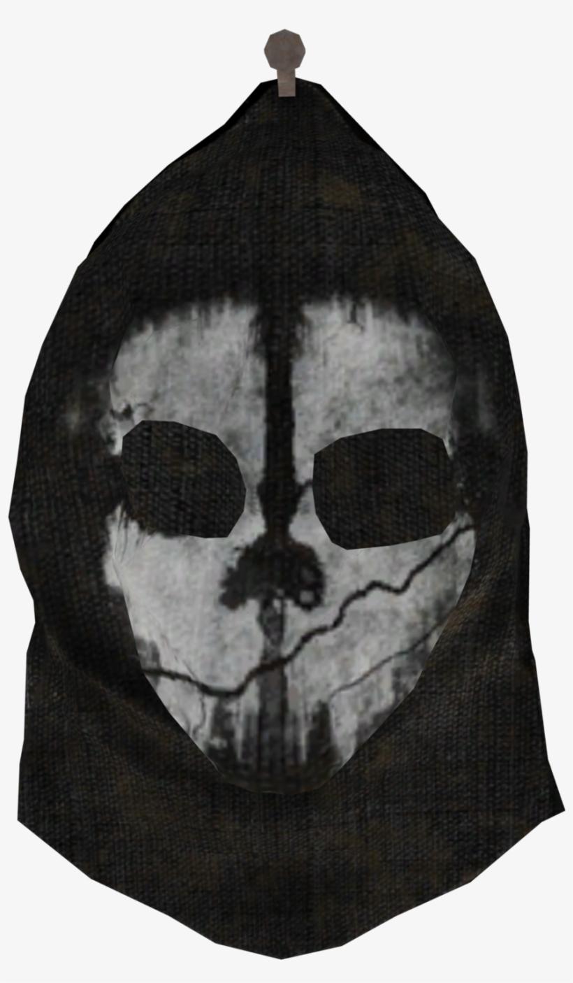 Ghosts Mask Model Coodg - Ps3 Slim Skin Cod Ghosts V-1, transparent png #778857