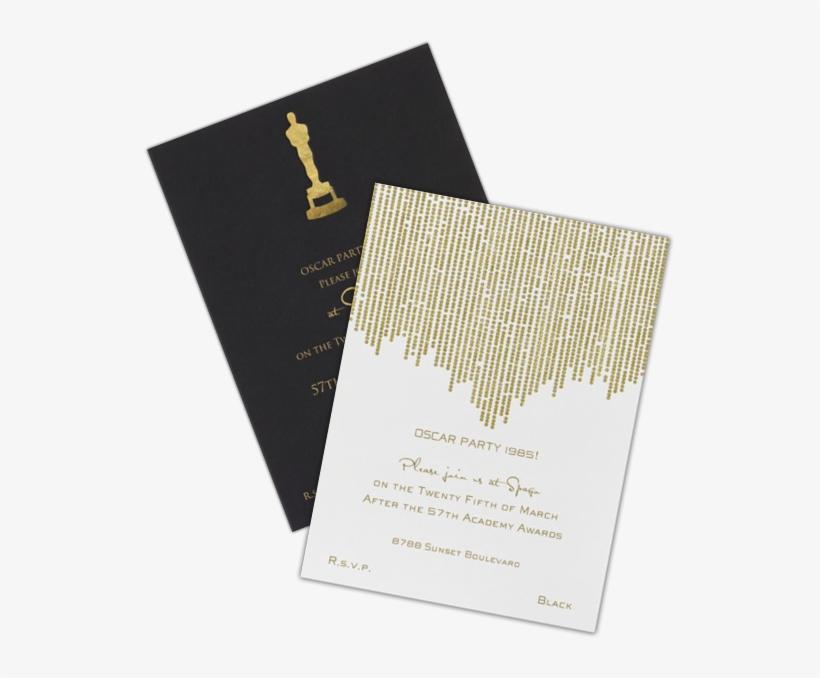 Academy Award Invitations 15 Cool Oscar Party Invitations Oscar