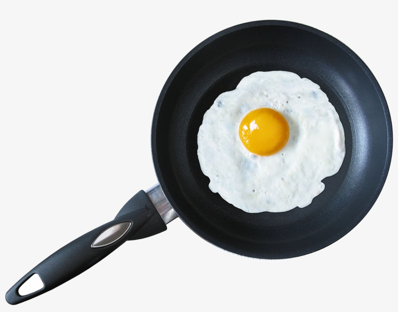 Frying Fried Egg Png Free Images Toppng - Fried Egg In Pan, transparent png #779104
