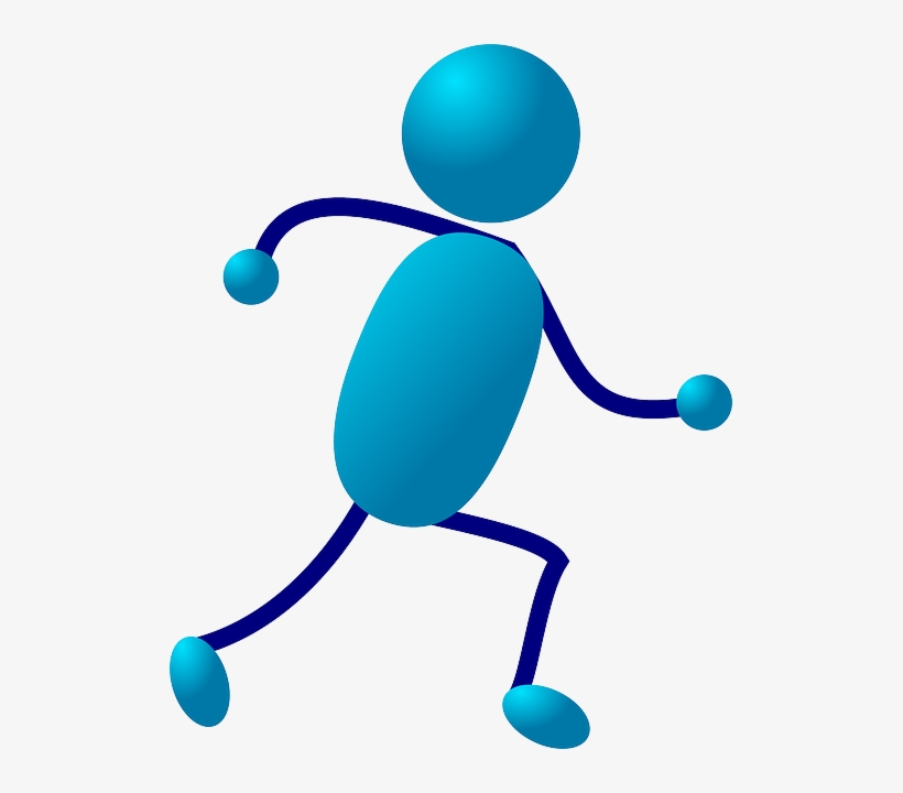 Stick, People, Man, Guy, Runner, Figure, Person - Stick Man Running, transparent png #779999
