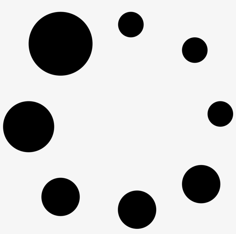 There Are 8 Small Circles Arranged In A Circle - Circle, transparent png #7700881