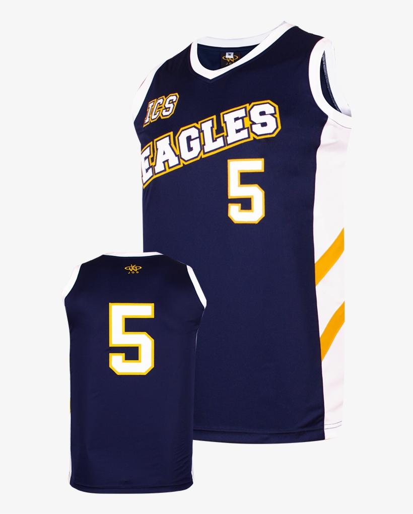Slam Dunk Pro Jerseys Eagles - Sports Jersey, transparent png #7701476