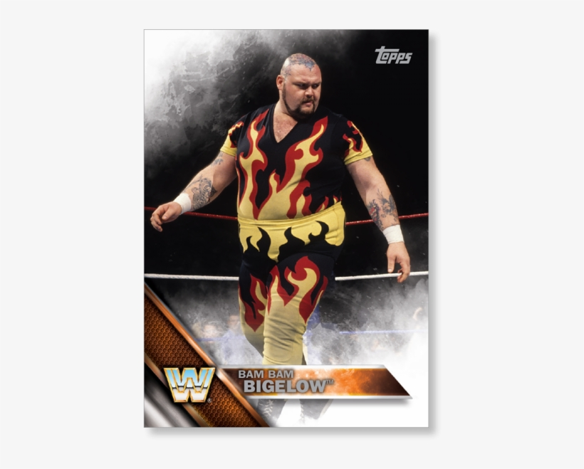 2016 Topps Wwe Bam - Topps, transparent png #7709457