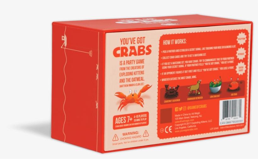 You've Got Crabs - You Ve Got Crabs Box, transparent png #7716849