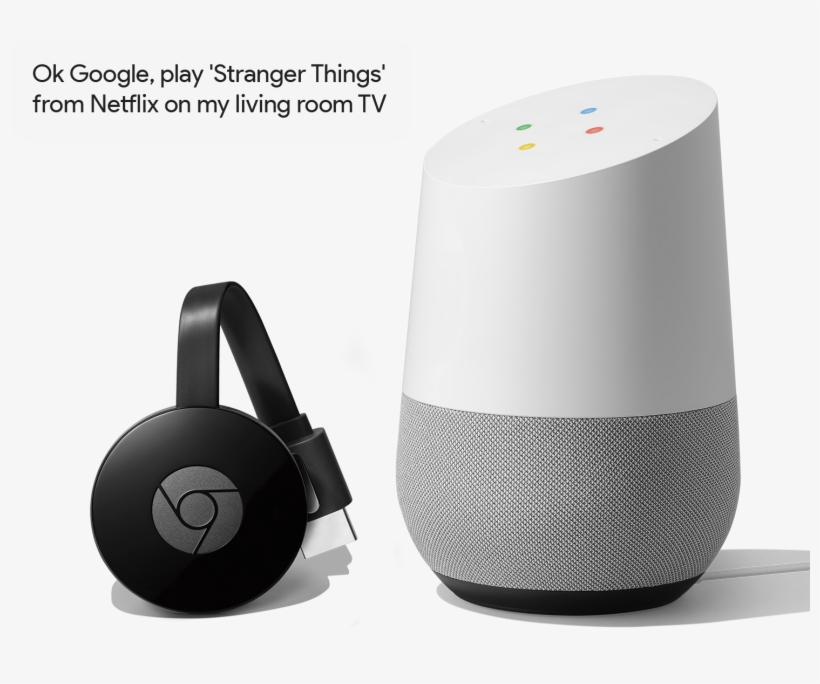 Start Streaming With Just Your Voice - Chromecast 3 - Free