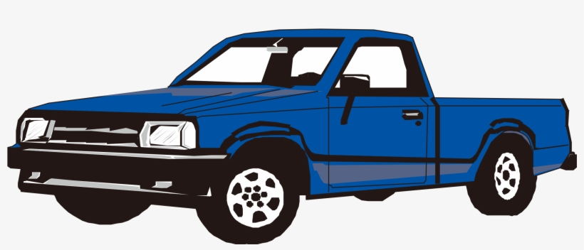 Toyota Clipart Toyota Pickup Truck - Pick Up Truck Clipart, transparent png #7723134