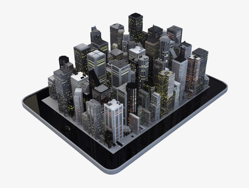 Image Result For 3d City Model - City Png Hd 3d - Free