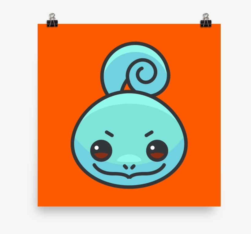 Pokemon Go Wall Poster - Squirtle, transparent png #7728603