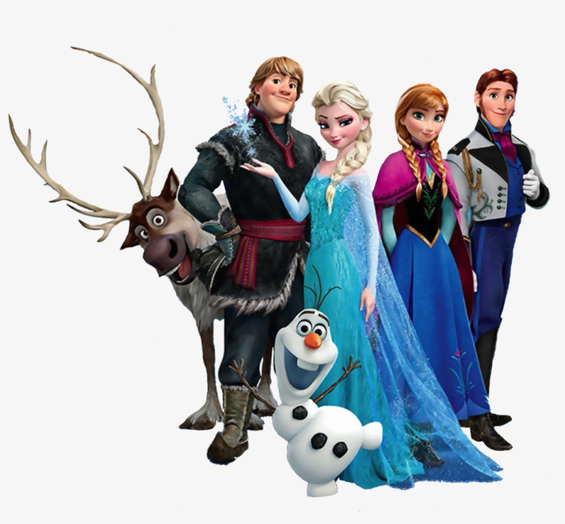Frozen Clipart Oh My Fiesta In English Anna From Frozen - Personagens Da Disney Frozen, transparent png #7729249