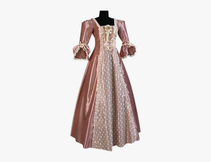 Charlotte Victorian Style Dress - Victorian Era Dresses, transparent png #7729817