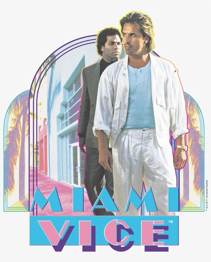 Miami Vice Miami Heat Women's T-shirt - Miami Vice, transparent png #7730940