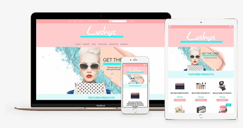 Ecommerce Website Design - Site E Commerce Design, transparent png #7737836