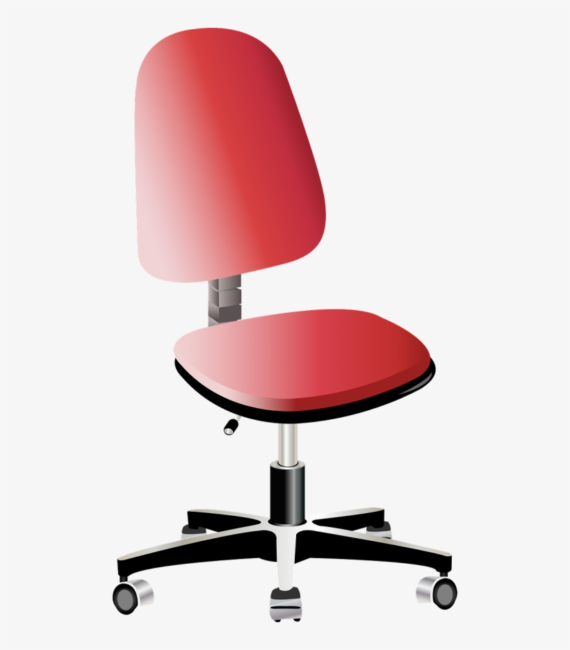 Swivel Chair,work Chair,ergonomics,height - Vector Office Chair Png, transparent png #7738939