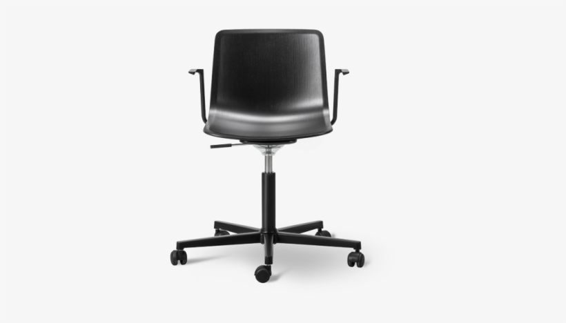 Chairs For Office Affordable Desk Chairs Where To Get - Pato Veneer Office Armchair, transparent png #7739382