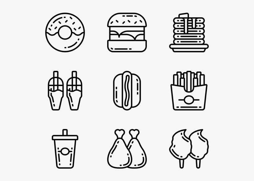Fast Food - Curriculum Vitae Icons, transparent png #7748389