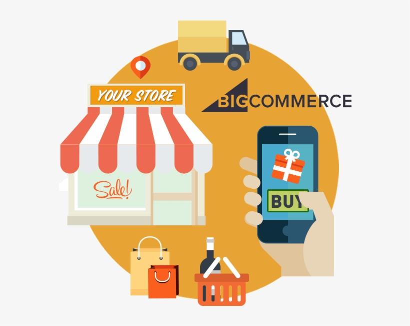 Ecommerce Png Transparent Images - E Commerce Bigcommerce Development, transparent png #7749012