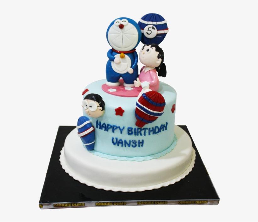 Theme Base Cake - Happy Birthday Cake Vansh, transparent png #7749287