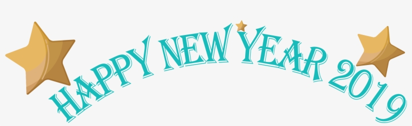 Free Icons Png - Happy New Year 2019 Transparent, transparent png #7750169