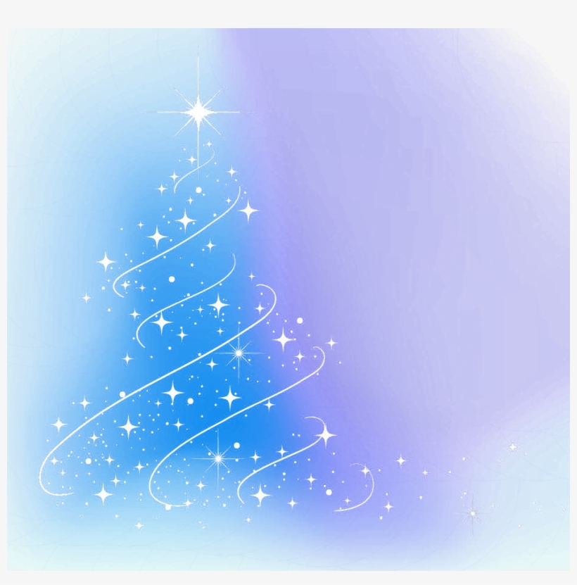 Light Abstract Tree Decoration Year Christmas - Christmas Day, transparent png #7752364