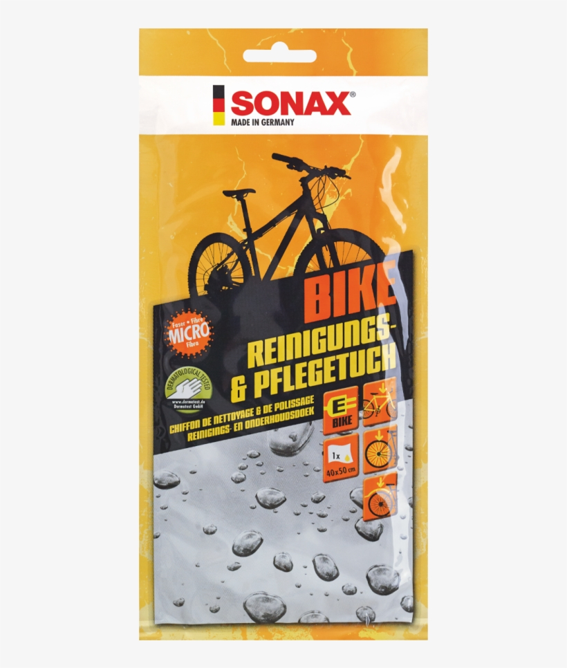 Sonax Bike Cleaning & Care Cloth - Cleaning Cloth Sonax Bike 852000 1 Pc(s), transparent png #7753827