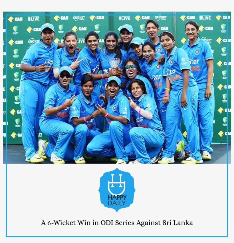 Cricket - Women World Cup Indian Team, transparent png #7755670