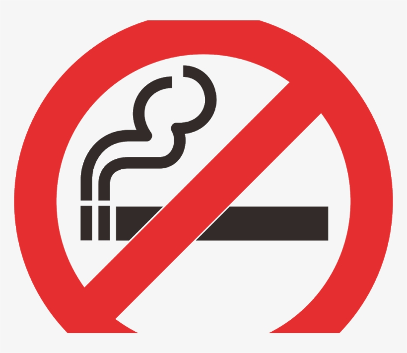 picture regarding Printable No Smoking Sign named No Cigarette smoking Signal Printable Pdf - No cost Clear PNG