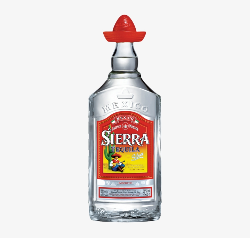 1/2 Oz Vodka - Sierra Tequila Silver 100cl, transparent png #7768319