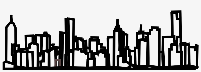 Skyline,new Vector Graphics - New York Png Drawing, transparent png #7772863